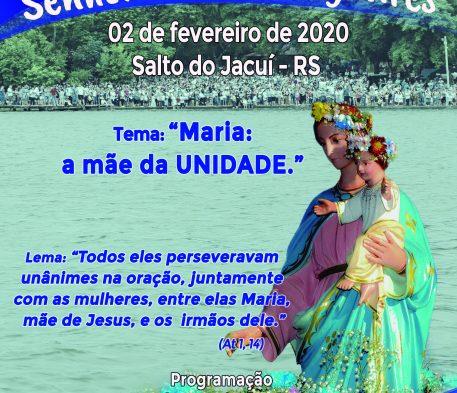 Paróquia Nossa Senhora dos Navegantes do Salto do Jacuí prepara festa da Padroeira
