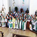 Dom Adelar prega retiro para Clero de Blumenau em Nova Trento