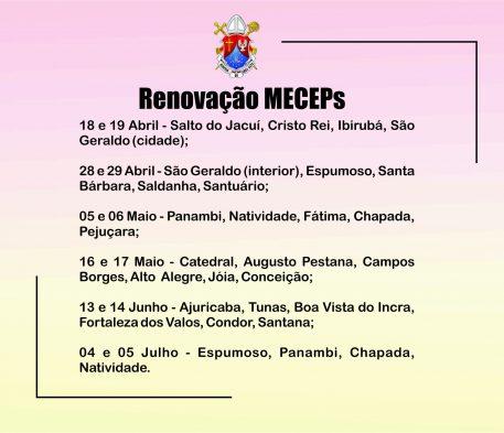Retiro dos MECEPs