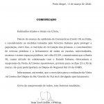Visita Ad Limina Apostolorum do Regional Sul 3 é suspensa