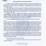 Nota da Diocese de Cruz Alta sobre o coronavírus (Covid 19)