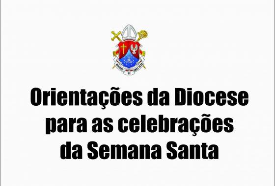 Missas na Diocese de Cruz Alta permanecem sem a presença do povo inclusive até a Páscoa