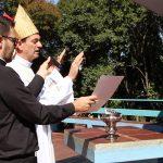 Dom Adelar abençoa Cruz Alta pedindo a intercessão de Nossa Senhora de Fátima