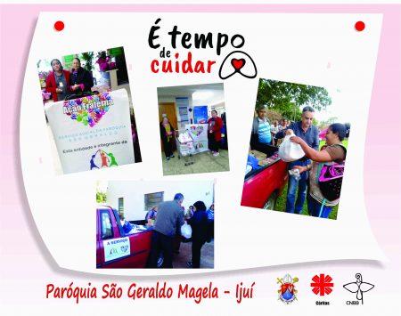 Conheça a ação social emergencial desenvolvida na Paróquia São Geraldo