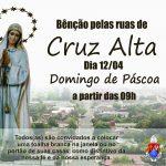 Nossa Senhora de Fátima intercede por Cruz Alta