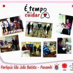 É tempo de cuidar – Conheça a ação social da Paróquia São João Batista de Panambi