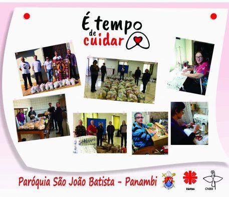 É tempo de cuidar - Conheça a ação social da Paróquia São João Batista de Panambi