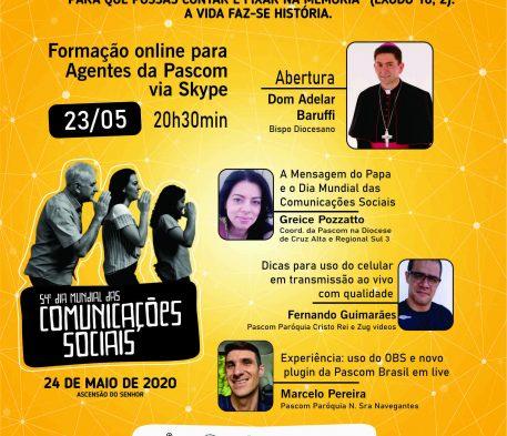 Igreja celebra o 54º Dia Mundial das Comunicações Sociais neste domingo