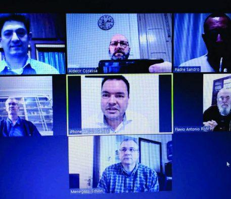 Reuniões das regiões pastorais são realizadas online