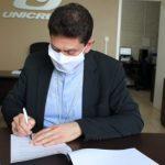 Diocese de Cruz Alta renova acordo de cooperação com a Unicruz