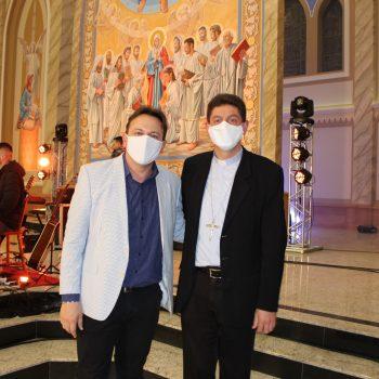 Live da Catedral - Mostra das obras internas da revitalização da Catedral