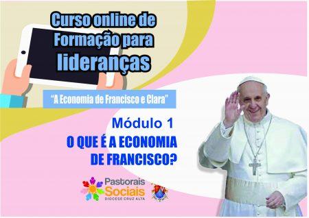 """""""O que é a Economia de Francisco?"""" foi o tema do primeiro módulo da formação para lideranças"""