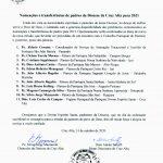 Nomeações e transferências de padres da Diocese de Cruz Alta para 2021