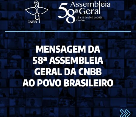 CNBB divulga mensagem ao povo brasileiro
